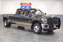 2014_Ford_Super Duty F-350 DRW_KING RANCH 4WD 'DIESEL' COWHIDE LEATHER! SUNROOF! NAVIGATION! ONLY 38,957 MILES!! LIKE NEW!!!_ Norman OK