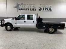 2014_Ford_Super Duty F-350 DRW_XL 4WD Crew FlatBed Powerstroke_ Dallas TX