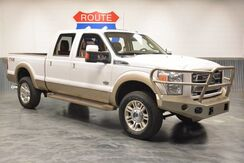 2014_Ford_Super Duty F-350 SRW_KING RANCH 4WD DIESEL!!! COWHIDE LEATHER! NAVIGATION! SUNROOF! LIKE BRAND NEW!!!_ Norman OK