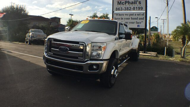 2014 Ford Super Duty F-450 DRW Lariat