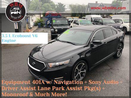 2014_Ford_Taurus_SHO AWD_ Arlington VA