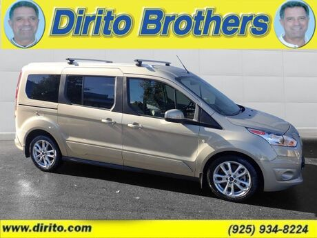 2014 Ford Transit Connect Wagon Titanium 49400A Titanium Walnut Creek CA