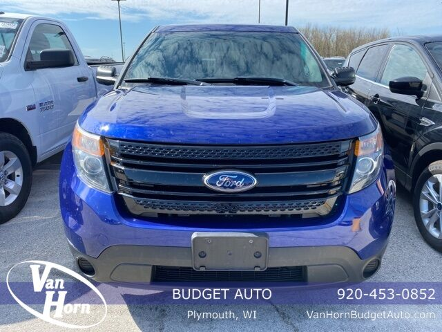 2014 Ford Utility Police Interceptor Base Plymouth WI