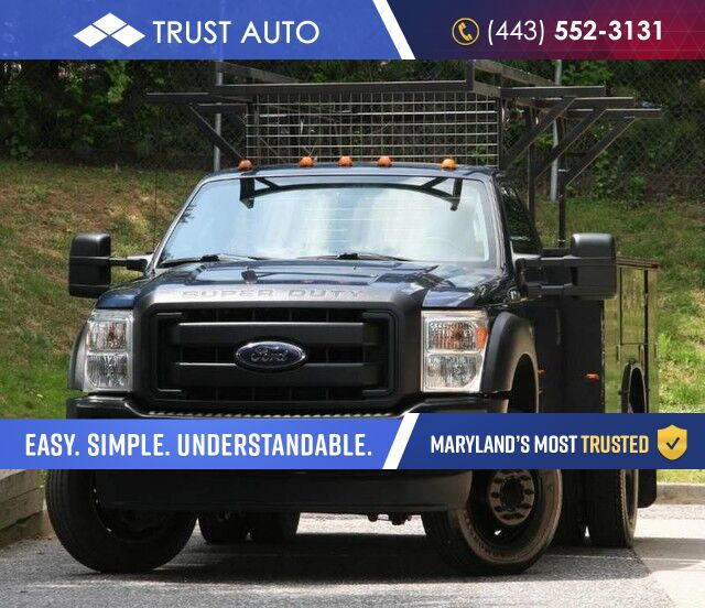 2014 Ford XL Super Duty F-450 DRW Service / Utility Body Pickup Truck XL