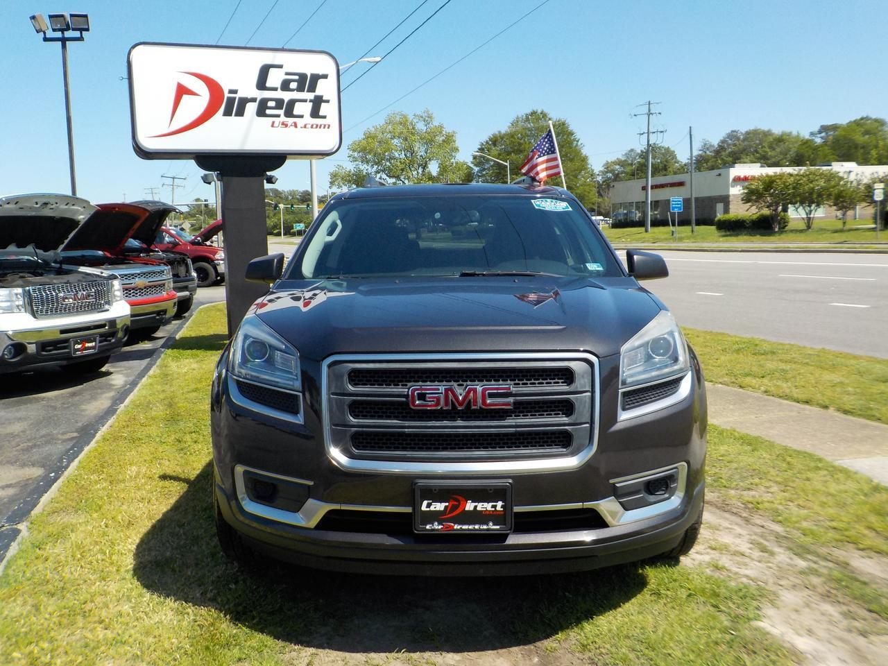 2014 GMC ACADIA SLE AWD, 3RD ROW SEATING, SUNROOF, REMOTE START, TOW, BLUETOOTH, POWER LIFTGATE, BACKUP CAMERA! Virginia Beach VA