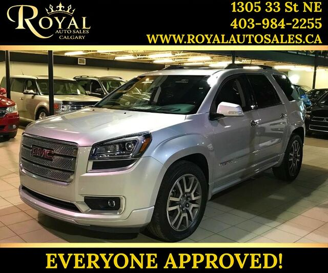 2014_GMC_Acadia_Denali FULLY LOADED, NAV, BLUETOOTH, & MORE_ Calgary AB