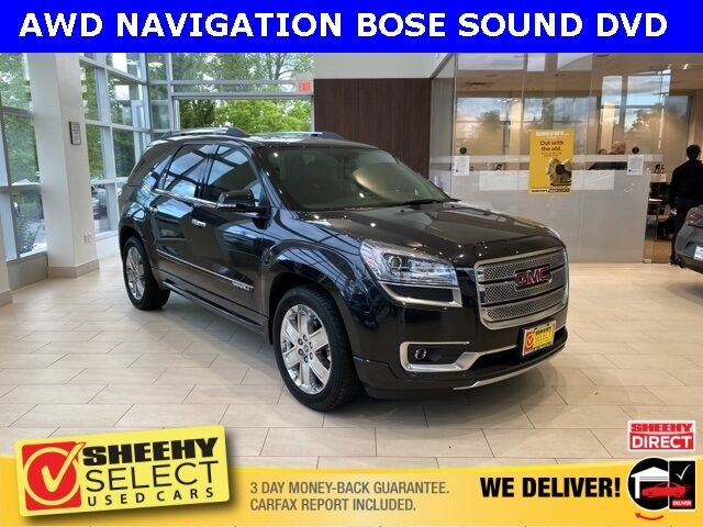 2014 GMC Acadia Denali Chantilly VA