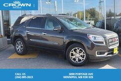 2014_GMC_Acadia_SLT1 **Local Vehicle**_ Winnipeg MB