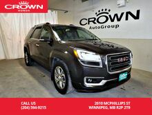 2014_GMC_Acadia_SLT1/navigation sys/back up camera/bluetooth/heated seats_ Winnipeg MB
