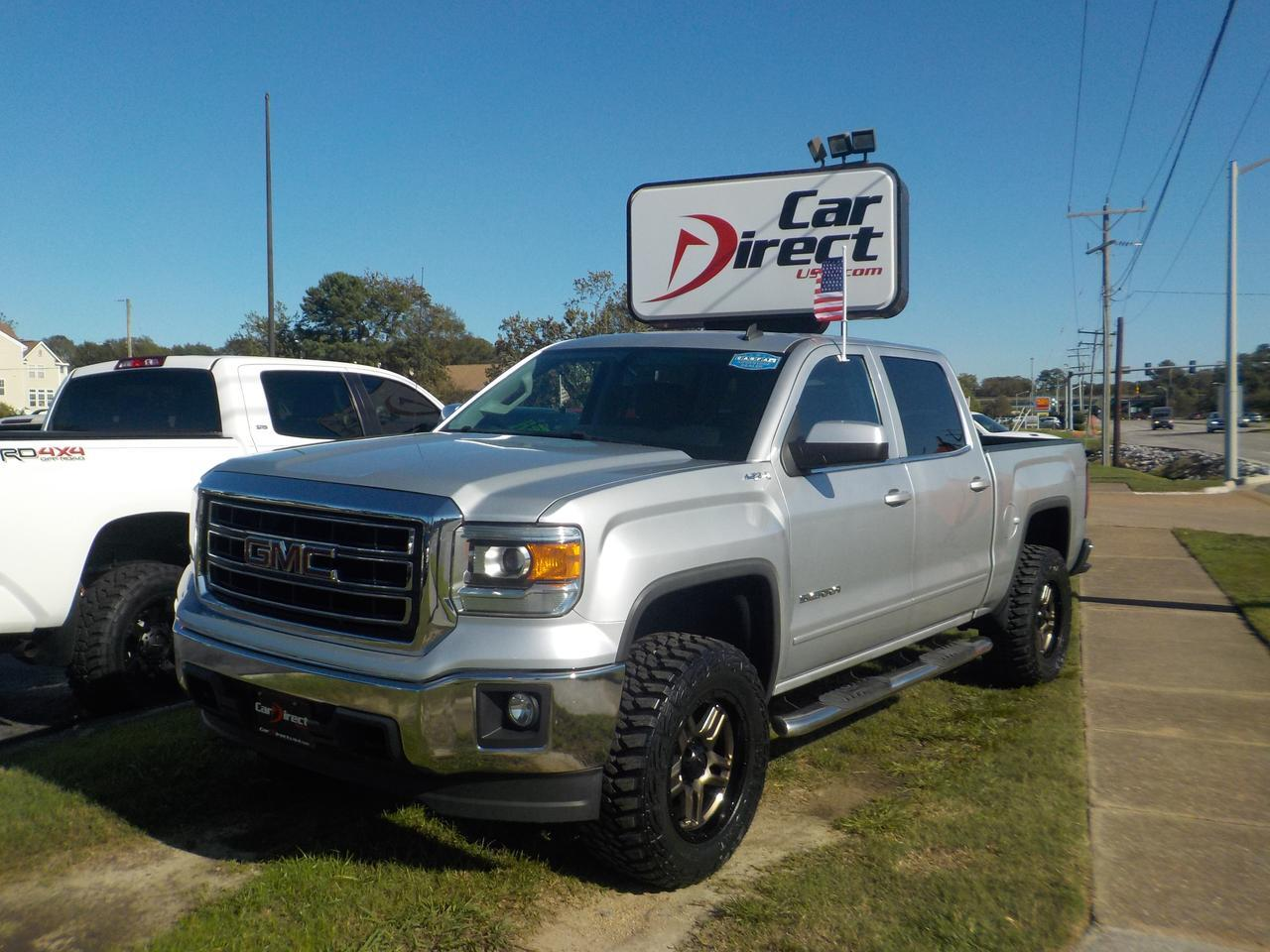 2014 GMC SIERRA 1500 SLE CREW CAB 4X4, RUNNING BOARDS, BED LINER, BACKUP CAM, PARKING SENSORS, TOW PACKAGE!