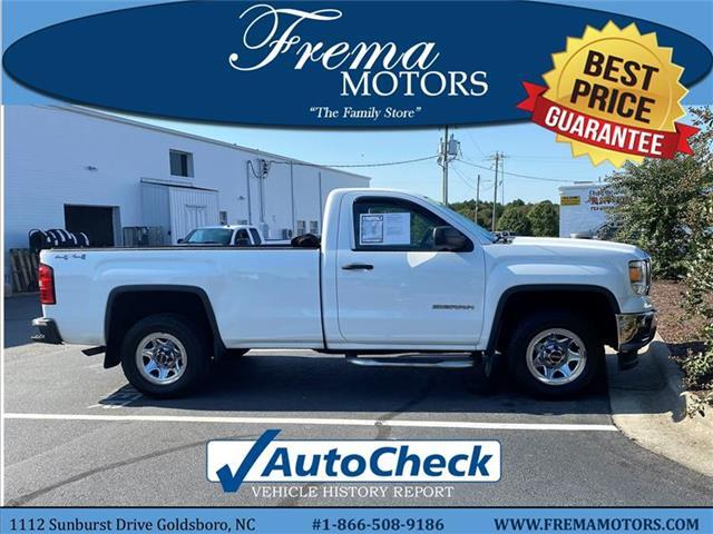 2014 GMC Sierra 1500 Base 4x4 Regular Cab 6.6 ft. box 119 in. WB Goldsboro NC