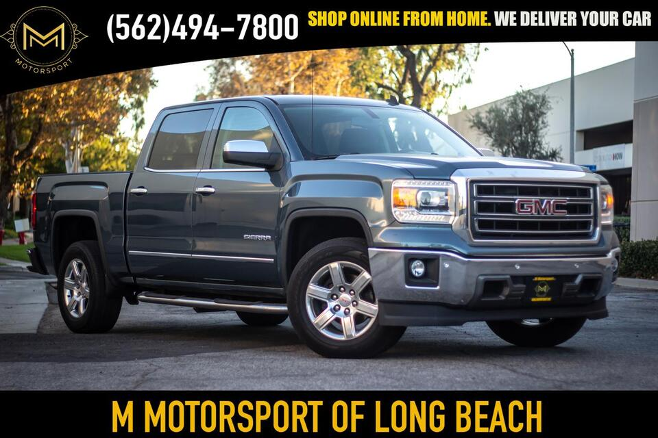 2014_GMC_Sierra 1500 Crew Cab_SLT Pickup 4D 5 3/4 ft_ Long Beach CA