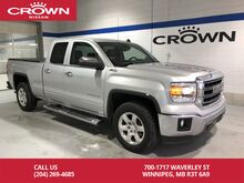 2014_GMC_Sierra 1500_SLT Double Cab 4x4 w/ Tonneau Cover/Chrome Side Steps/ Spray-in bedliner_ Winnipeg MB