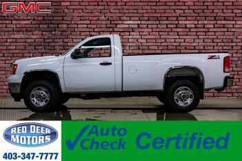 2014_GMC_Sierra 2500HD_4x4 Reg Cab WT Longbox_ Red Deer AB