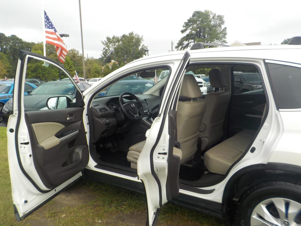 2014 HONDA CR-V EX-L, LEATHER, HEATED SEATS, BACKUP CAMERA, PARKING SENSORS, SUNROOF, ONLY 73K MILES! Virginia Beach VA