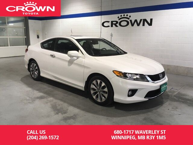 2014 Honda Accord Coupe 2dr I4 CVT EX L W/Navi / Low Kms ...