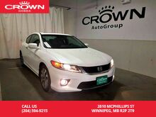2014_Honda_Accord Coupe_EX-L / accident-free history/ remote starter/ push start button/sunroof_ Winnipeg MB
