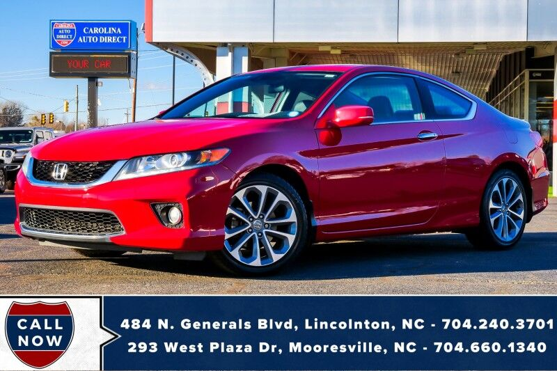 2014 Honda Accord Coupe EX-L w/ Heated Front Seats & NAVI Mooresville NC