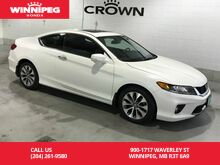 2014_Honda_Accord Coupe_EX-L w/Navi/One owner/Lease return_ Winnipeg MB