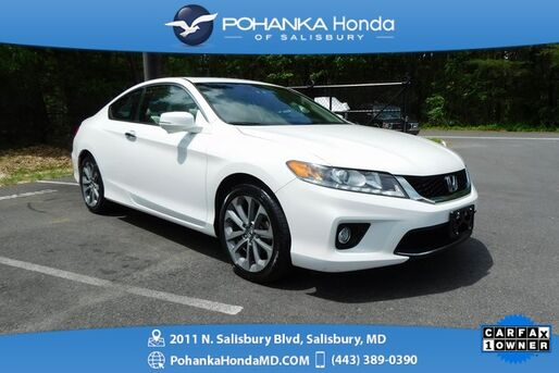 2014_Honda_Accord_EX-L V6 ** SUNROOF & SIDE VIEW CAMER ** ONE OWNER **_ Salisbury MD
