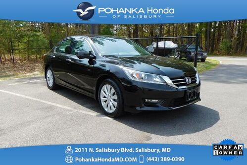 2014_Honda_Accord_EX-L V6 ** SUNROOF & SIDE VIEW CAMERA ** 1 Owner **_ Salisbury MD