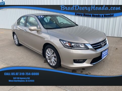 2014_Honda_Accord_EX-L_ West Burlington IA