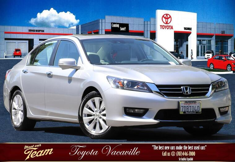 2014 Honda Accord Ex-l Sedan Vacaville CA