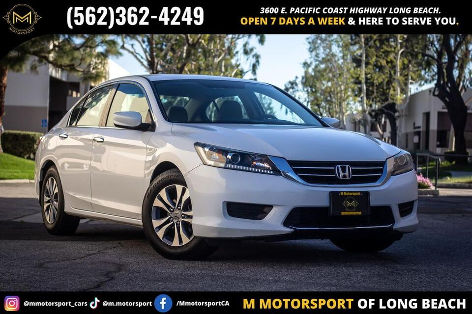2014_Honda_Accord_LX Sedan 4D_ Long Beach CA