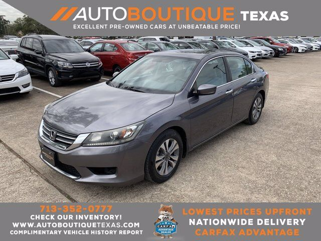 2014 Honda Accord Sedan LX Houston TX
