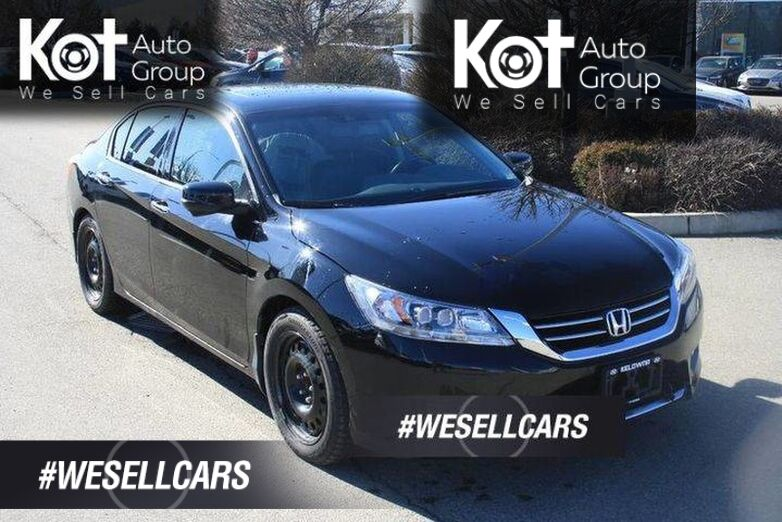 2014 Honda Accord Sedan Touring HEATED SEATS! SUNROOF! LEATHER,NAVIGATION! TWO SETS OF TIRES! Kelowna BC
