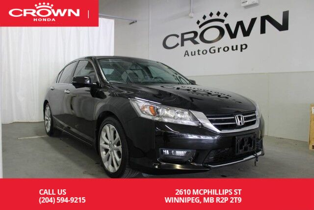 2014 Honda Accord Sedan Touring/PUSH BUTTON START/BACK UP CAM/ MOONROOF/ ...