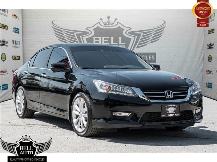 2014 Honda Accord Touring 360 SURROUND CAMERA NAVI SUNROOF LEATHER Toronto ON