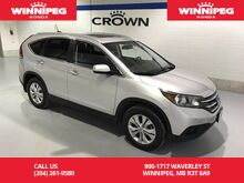 2014_Honda_CR-V_AWD/Leather/Navigation/Sunroof/Heated seats/Bluetooth_ Winnipeg MB