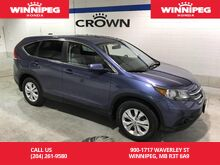 2014_Honda_CR-V_AWD/One owner/Leather/Rear view camera/Heated seats_ Winnipeg MB