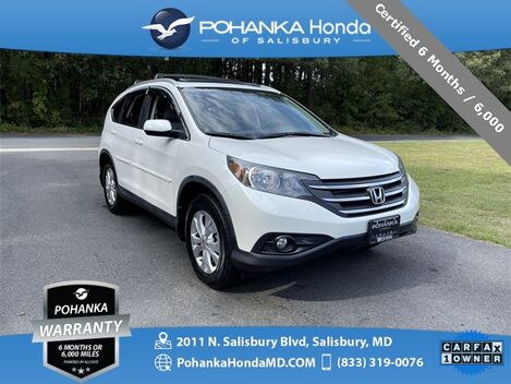 2014_Honda_CR-V_EX-L AWD ** Certified 6 Months / 6,000  **_ Salisbury MD