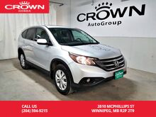 2014_Honda_CR-V_EX-L/awd/ONE OWNER LEASE RETURN/ ACCIDENT-FREE HISTORY/ECON MODE/BACK UP CAM/ LOW KMS_ Winnipeg MB