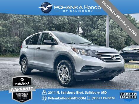 2014_Honda_CR-V_LX AWD ** Certified 6 Months / 6,000 **_ Salisbury MD