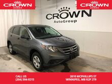 2014_Honda_CR-V_LX /AWD/BACK UP CAM/HEATED SEATS/BLUETOOTH/_ Winnipeg MB