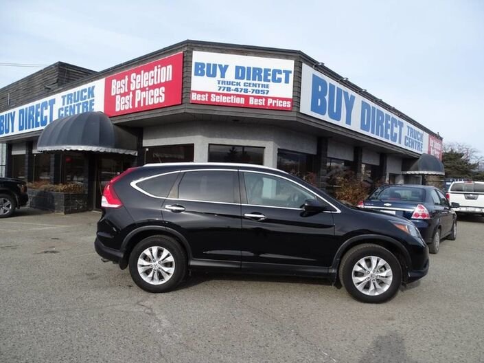 2014 Honda CR-V Touring Heated Leather seats, Back-up cam, Sunroof Kelowna BC