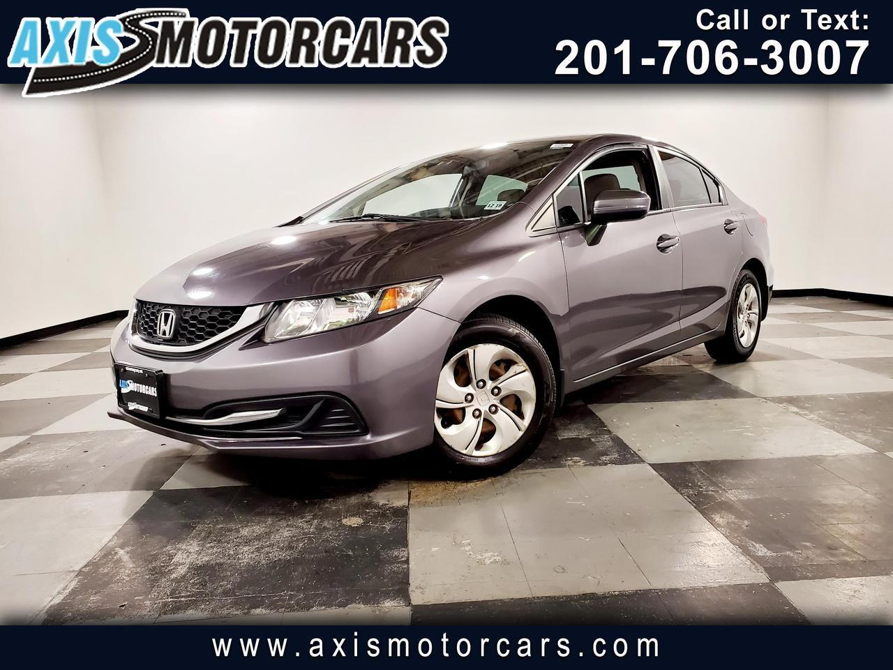 2014 Honda Civic 4dr CVT LX Jersey City NJ