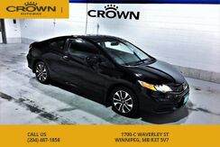 2014_Honda_Civic Coupe_EX Coupe **Sunroof** No Accidents** Side View Camera**_ Winnipeg MB