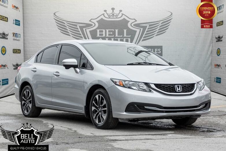 2014 Honda Civic EX BACK-UP, LANE DEP CAM, SUNROOF, ALLOY WHEELS Toronto ON