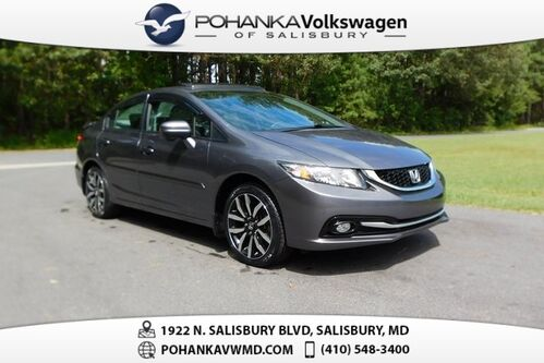 2014_Honda_Civic_EX-L ** LEATHER & SUNROOF ** 39+ MPG **_ Salisbury MD