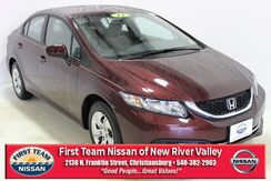 2014_Honda_Civic_LX_ Christiansburg VA