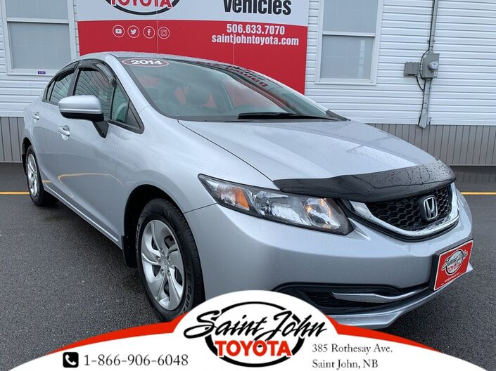 2014 Honda Civic LX REDUCED !$! Saint John NB