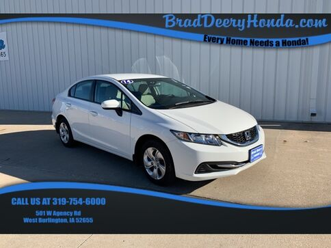 2014_Honda_Civic_LX_ West Burlington IA