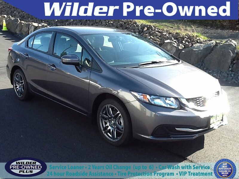 2014 Honda Civic Sedan 4d LX CVT Port Angeles WA