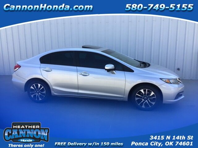 2014 Honda Civic Sedan EX Ponca City OK