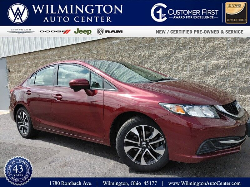 2014 Honda Civic Sedan EX Wilmington OH