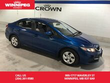 2014_Honda_Civic Sedan_LX/Bluetooth/ECO mode_ Winnipeg MB